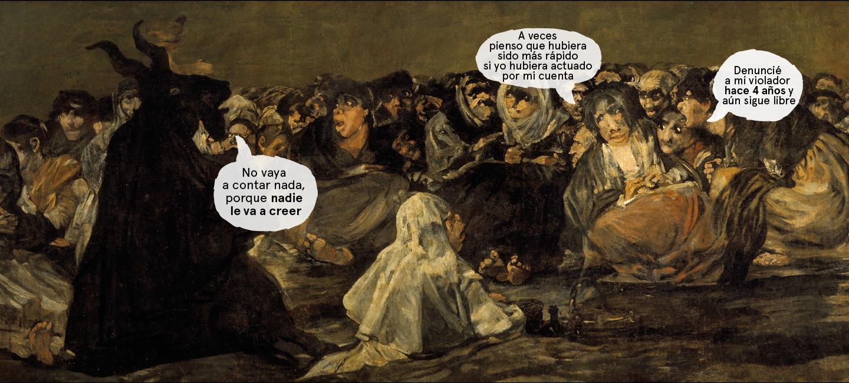 El aquelarre (1823) - Francisco de Goya