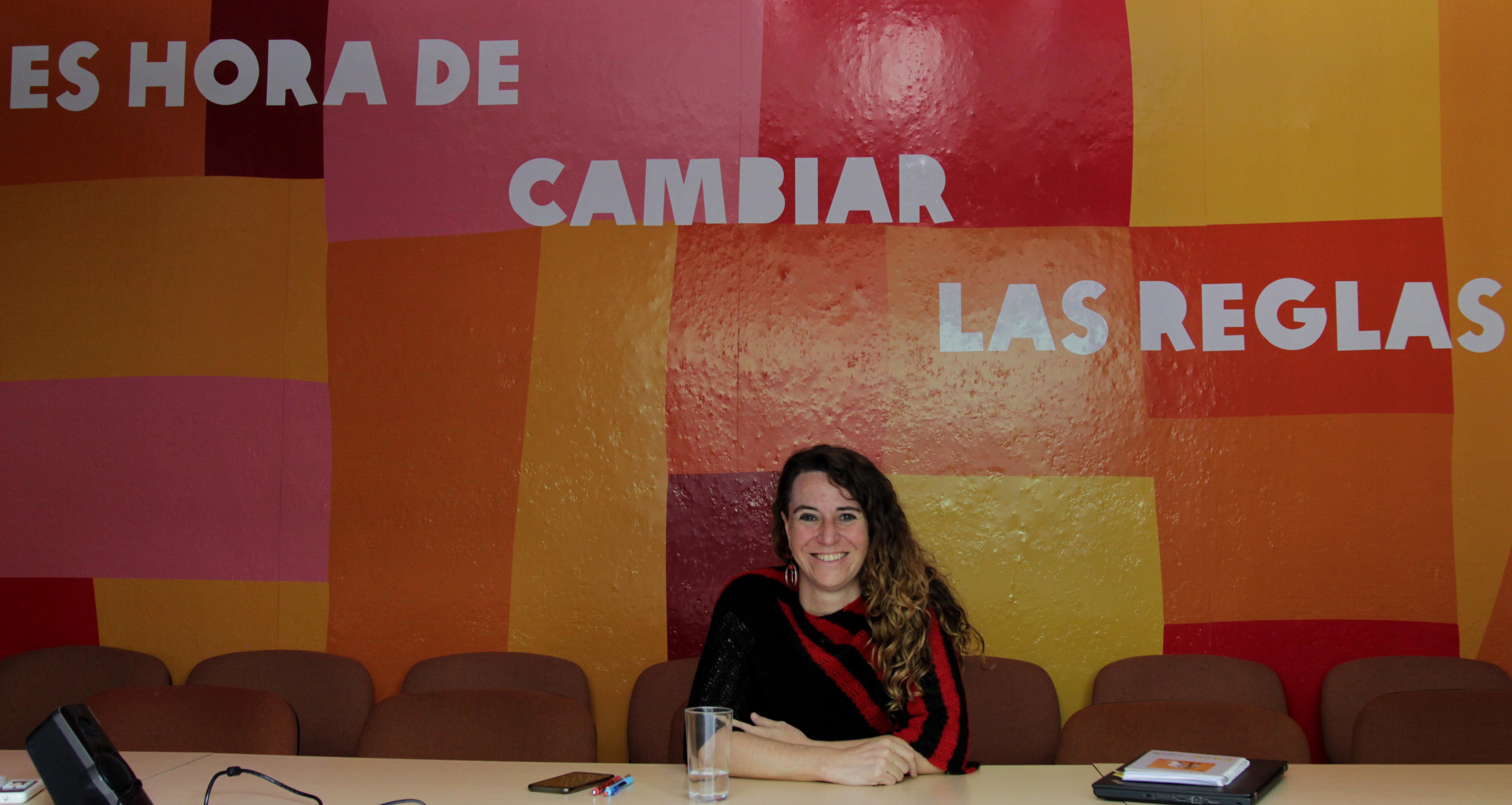 Rosa Cañete, coordinadora regional del Programa de Lucha contra la Desigualdad y la Captura del Estado, de Oxfam.